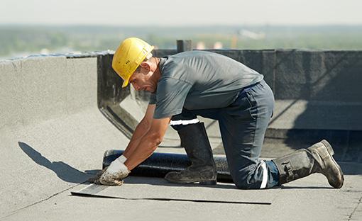 Toiture membrane élastomère sur toit plat à Montréal, Laval et Verdun | Toiture Roger Savoie de Verdun